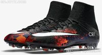 Wholesale 2016 Hot Men s Mercurial Superfly CR7 FG Football Boots With ACC Magista Obra Football Boots Men Soccer Cleats Shoes Sneaker Sports Shoes