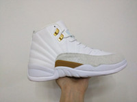 snakeskin - Drop Shipping retro OVO white for Men Basketball Sport Shoes Size with box