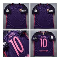 Wholesale Plus Size XL New Barcelona jerseys home away MESSI ARDA A INIESTA SUAREZ SERGIO PIQUE I RAKITIC NEYMAR JR Soccer Jersey