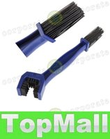 Wholesale LAI Cycling Motorcycle Bicycle Chain Crankset Brush Cleaner Cleaning Tool Red or Blue