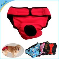 Wholesale New Big Sanitary Physiological Pants for Large Dogs Underwear Large Breeds Washable Cover Size Colors