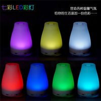 Wholesale 100ml Essential Oil Diffuser Portable Aroma Humidifier Diffuser LED Night Light Ultrasonic Cool Mist Fresh Air Spa Aromatherapy Hot