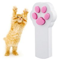 Wholesale Funny Pet Cat Dog Interactive Automatic Red Laser Pointer Exercise Toy
