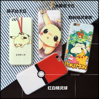 anime case iphone - Japanese Anime Cartoon Pocket Monsters Pokemons Go Game Pikachu Design Soft TPU Gel Phone Case Cover For iPhone S S Plus