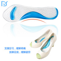 arch sandals - NEW Non Slip Sandals High Heel Arch Cushion Support Silicone Gel Pads Shoes Insole Pain Relief Size cm