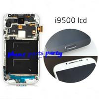 Wholesale For Samsung Galaxy S4 screen display digitizer with Original high quality or Copy for i9500 i337 i545 i9502 i9505 E300K E300S