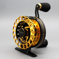 Wholesale Hot sell Fishing Reels V Groove Raft Reel Metal Gear Drag Front End Fishing Micro Lead