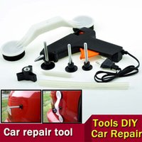 Wholesale ABS Glue Gun New Pops a Dent Ding Repair Removal Tool Set Kit for Car Door Vehicle Auto Automobile Pops Car Dent Repair Device