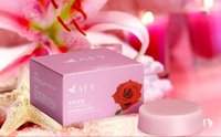 Wholesale 2016 lady AFY Natural Flower Soap Crystal Soap Enzyme Body Whitening Private Parts Clean Labia Perineum Dilute Areola Natural Handmade Soap
