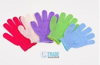 Wholesale Cloth Mitt Exfoliating Face or Body Bath Scrub Moisturizing gloves April Glove A111