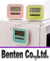 Wholesale Portable Useful Digital Home Kitchen Count Down Timer with Clockwise Function with LCD Display for Kitchen Lab LLFA11