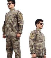 Wholesale color Camouflage suit sets Army Military uniform combat Airsoft Camouflage suit