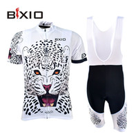 bicycle outfits - BXIO Cycling Sets Men XL To XL White Tiger Look Cycling Jerseys Bicycle Outfits In China BX W034