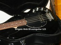 Wholesale Black Bass Guitars Music Man strings Electric Bass In Black Color High Quality OEM Cheap