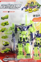 Wholesale panyouxia boys toys birthday gift for aged educational toys deformation toys a suit