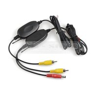 Wholesale G Wireless RCA Video Transmitter Receiver Car Rear View System for Car Backup Camera and Car Monitor