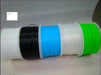 Wholesale FDM d printer filament mm mm NYLON Filament plastic Rubber Consumables Material For MakerBot RepRap UP Mendel Createbot d printer