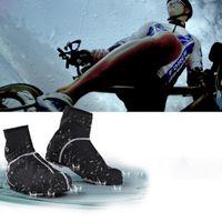 Wholesale Pro Winter Cycling Shoe Covers Waterproof Bicycle Bike Overshoe Fleece Thermal