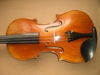 Wholesale 1 PC Quality Hand made Painted Violin with Spruce top maple back and sides ebony accessories