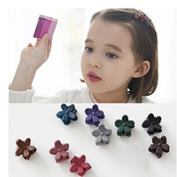 Wholesale New Girl children flower Hair Claws Hairpin Hairclip Vintage Hair Clip Clips Hair Accessories for Women