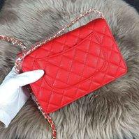 Wholesale 2016 Trendy Women Cross Body C Caviar Bag With Long Chains K1