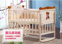 Wholesale European baby bed baby bed baby bed baby bed solid wood wooden bed bed bed bed baby bed bed bed baby cradle