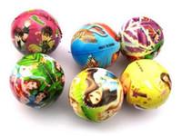 Wholesale 2 CM Kids Baby Soft PU Foam Sponge Ball Stress Relief Ball Squeeze Toy Fun Activity Cartoon Balls