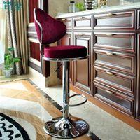 bar stools direct - The new direct European bar stools lift chair stylish high stool Beige