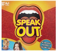 Wholesale Speak Out Game KTV party Game Christmas Toy Game cards the newest and best selling toy hot shipping free