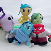 baby fear - 5pcs latest Pixar Movie Inside Out Plush Toys Stuffed Doll Anger Joy Fear Disgust And Sadness Peluches Kids Gift baby toys