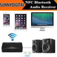 Wholesale NFC Bluetooth Audio Receiver For Sound System Portable Speaker NFC Enabled HD Wireless Music Receiver for iPhone Tablet PC
