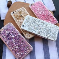 best decorating - Best Seller Paillette Decorated Cell Phone Case for iPhone plus s plus s Soft TPU Luxury Protection Covers hm