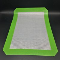 Wholesale Non Stick Silicone Mats CM x CM x inch Silicone Baking Mats Dab Oil Wax Bake Dry Herb Pads