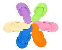 pedicure slippers - Disposable EVA Slipper Foam Salon Spa hotel Slipper Disposable Pedicure thong Slippers Disposable slippers Beauty Slipper