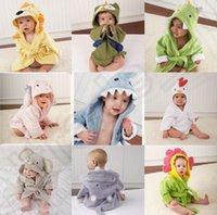 baby clothes dryer - 11 design KKA138 Children s Pajamas robe kids cartoon Bathrobes Baby home wear Bathrobe sleepwear Homewear Pajamas Clothing