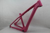 Wholesale Cube er whole pink mountain carbon fiber bike frames MTB hardtail carbon frame with headset frame sizes quot and quot custom painting
