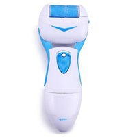 abs heel - 2016 New Arrival Electric Feet Heel Care Tool Blue Color Cuticle Pedicure Kit Hard Dead Dry Feet Skin Remover With ABS Material