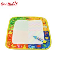 Wholesale Drawing Toys X29CM drawing board water doodle mat water drawing boar with magic pen