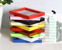 wood photo frame - Solid wood frame wall swing sets inch A4a3 creative children seven inches Frame