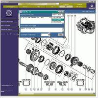 automotive parts software - Renault Parts Only description of the catalogue