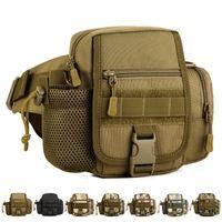 Wholesale Outdoor Vertical Version Tactical Bags Traveling Riding Bag Tool Bags Mulit Function Messenger Bag Men Sports Waist Bag