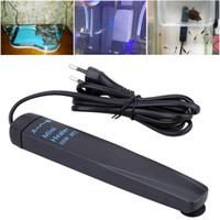 Wholesale Carbon Fiber Explosion proof Aquarium Heater Temperature Adjustment Thermostat Aquarium Accessories W W V