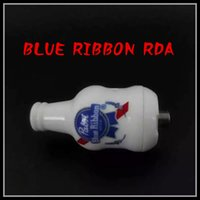 beer tasting - 2016 Newest Pabst Blue Ribbon Rda Replaceable Atomizers Full ceramic Beer design Bottom and side air intake hole good taste Fit Mods