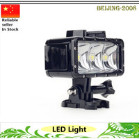 Wholesale Waterproof High Power Dimmable LED Video POV Flash Fill Light Night Light For GoPro Hero underwater