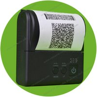 Wholesale 80mm thermal receipt pirnter POS printer low noise mini printer fast clear printing bluetooth printer thermal