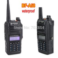 Wholesale BAOFENG BF A58 water proof anti dust way dual band radio MHZ walkie talkie