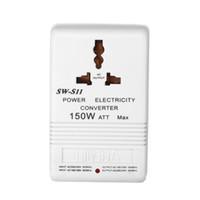 Wholesale 110v v to v v W step up transformer Voltage Converter Transformer Converts