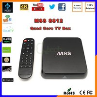 best skype box - Canada DHL Free Ship Best M8S G G Dual Band G G Wifi Android Amlogic S812 TV Box