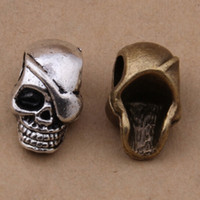 Wholesale 200 x12mm antique silver bronze skull Spacers human skeleton Connector findings beads good for your DIY jewelry