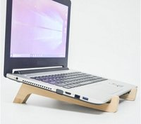 apple notebook sales - Hot sale Multifunction Wooden Stand for laptop notebook Holder wood stand for apple macbook laptop accessories